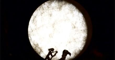 Carnet de voyage - ombres sur le tambour