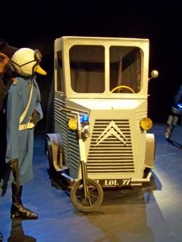 Le camion fantôme les gendarmes