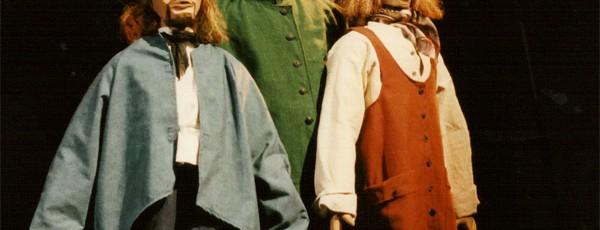 Marionnettes de Moby Dick Morisse et compagnie