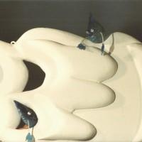 Perline Les gouttes d'eau sur leur nuage