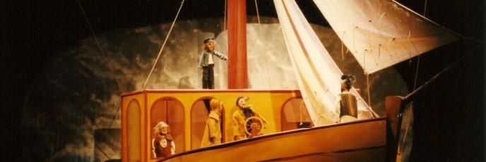 Le Pequod Moby Dick Marionnettes Morisse et compagnie